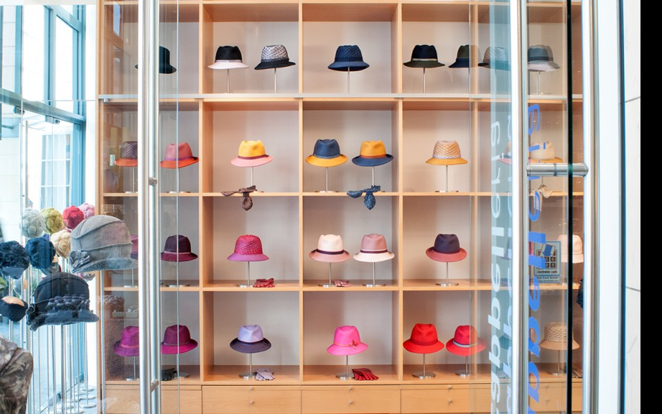 At Cappelleria, you'll find a range of great hats for everyday use. The hats can also be made-to-measure and customised to your requirements.